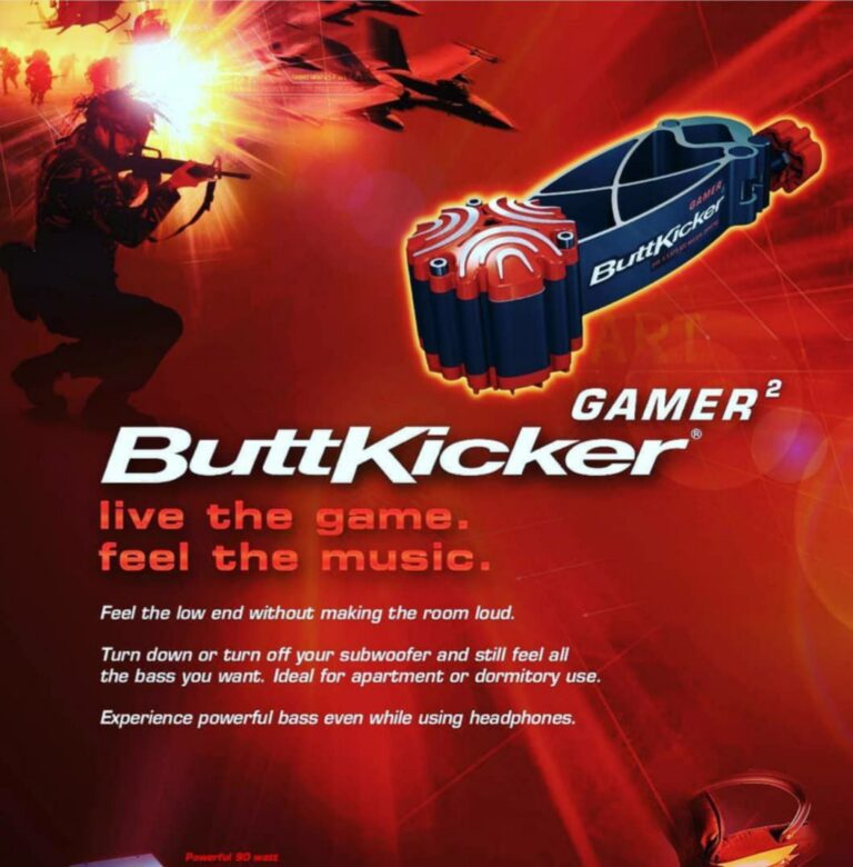 Buttkicker Gamer 2